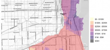 Model Output- Estimated 2021 Property Values in South Township